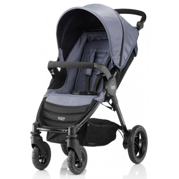 Britax B-Motion 4 kočárek 2018 Blue Denim