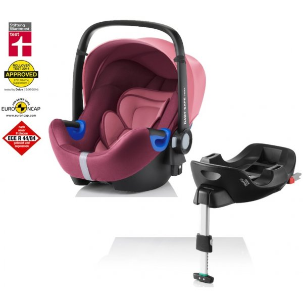 Römer BABY-SAFE i-SIZE Bundle Flex autosedačka 2018 Wine rose