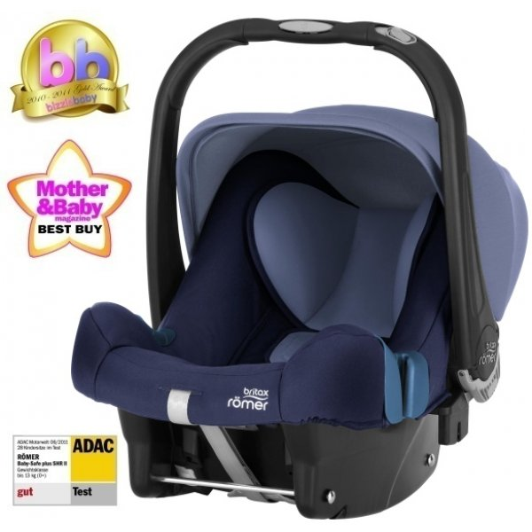 Römer BABYSAFE plus SHR II autosedačka 2018 Moonlight Blue