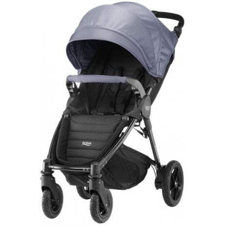 Britax B-MOTION 4 PLUS v setu s autosedačkou 2019/2020 Blue Denim