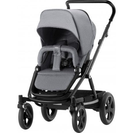 Britax Go Big 2 kočárek 2020 Grey Melange/Black