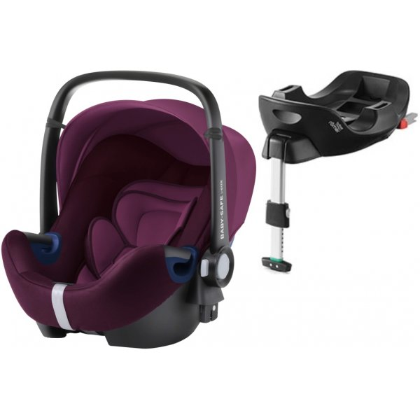Römer Baby-Safe 2 i-Size Bundle Flex autosedačka 2020 Burgundy Red