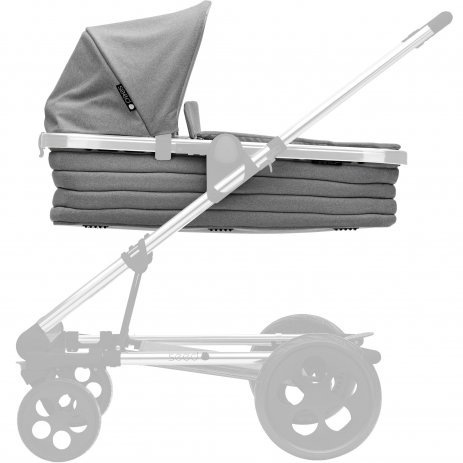 Britax SET Kočárek Seed Papilio Copper 2019 Black/Grey Melange