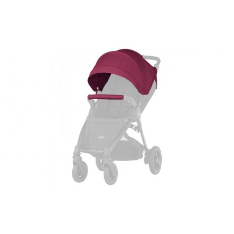 Britax B-Motion 3 PLUS + korba + autosedačka 2019 Wine Red