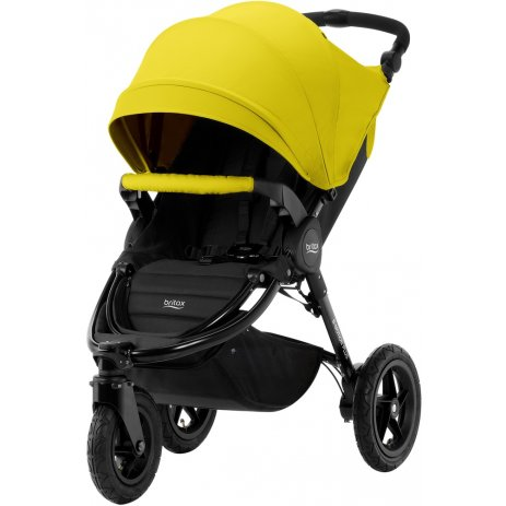 Britax B-Motion 3 PLUS + korba + autosedačka 2019 Sunshine Yellow