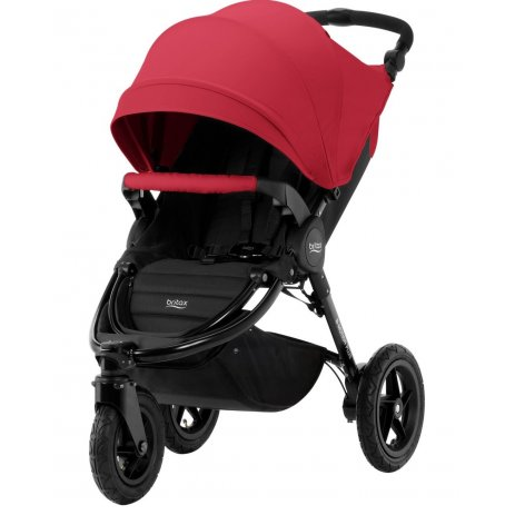 Britax B-Motion 3 PLUS + korba + autosedačka 2019 Flame Red