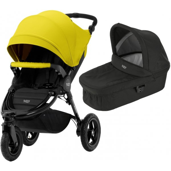 Britax B-Motion 3 PLUS + korba 2019 Sunshine Yellow
