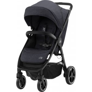 Britax Kočárek B-Agile R 2020 Black Shadow/Black